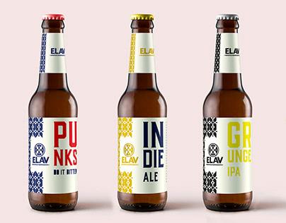 Rediseño marca Elav, cervecería artesana.