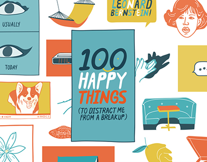 100 Happy Things To Distract Me From A Break-Up