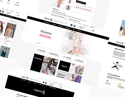 Nobilitas. Redesign e-commerce