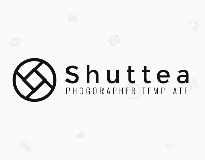 Shuttea - photographer portfolio & blog website