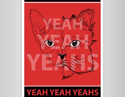 Poster Yeah Yeah Yeahs