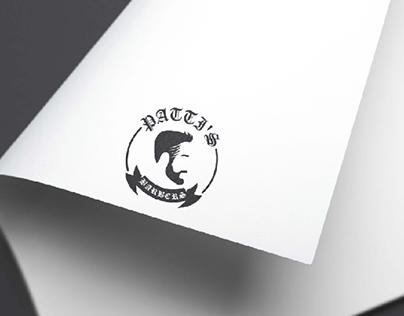 Patti's Barbers Logo