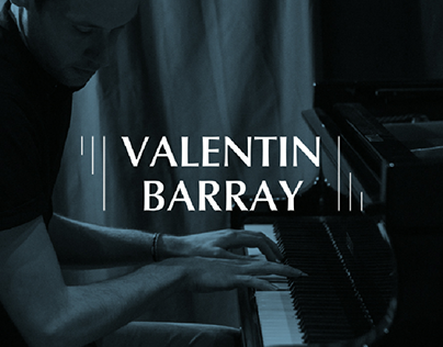 Valentin Barray logotype design
