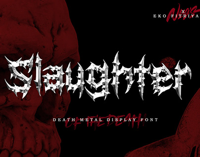 Slaughter Display Font