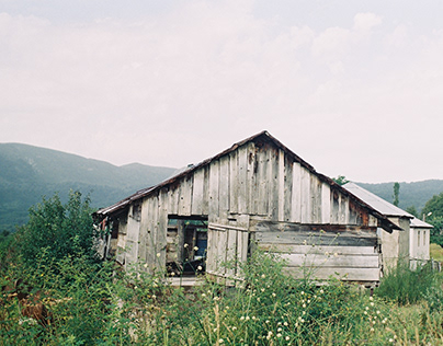 Sadness of abandoned houses