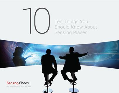 Sensing Places Brochure