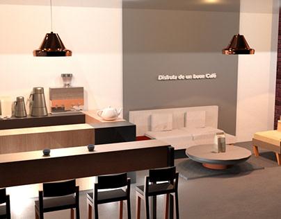 CoffeShop Render