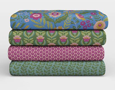 Fantasia en Verde pattern collection