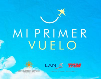 Mi Primer Vuelo - Aeropuerto de Carrasco
