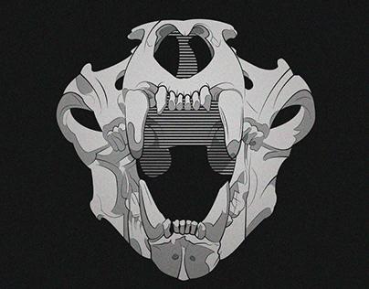 Animal Skull - Illustration
