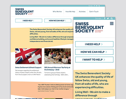 Swiss-Benevolent-Society-Website