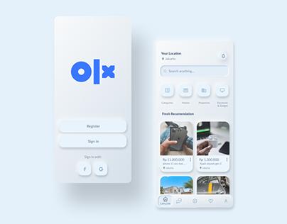 REDESIGN OLX Mobile App