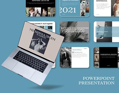Powerpoint Presentation about minimalism