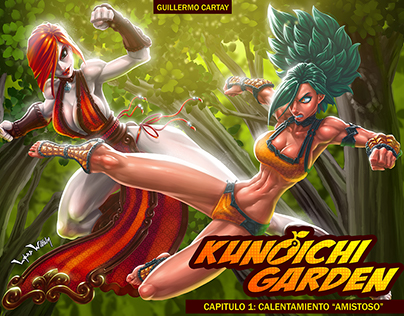 Kunoichi Garden Digital Comic