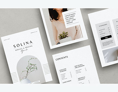 Solina - Service and Pricing Guide