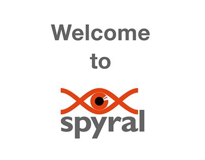 Spyral DNA App design