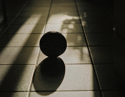 Light and shadows as a simple model of existence