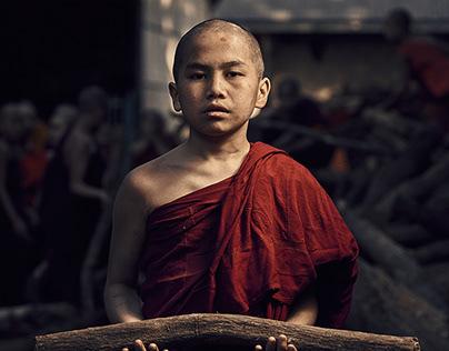 Novices - Myanmar
