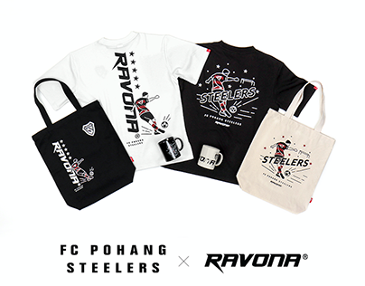 POHANG STEELERS x RAVONA Collaboration Collection