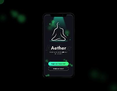 Aether - App Design