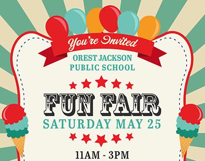 Fun Fair Invite