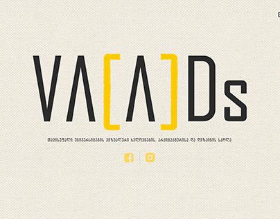 VA[A]Ds website design