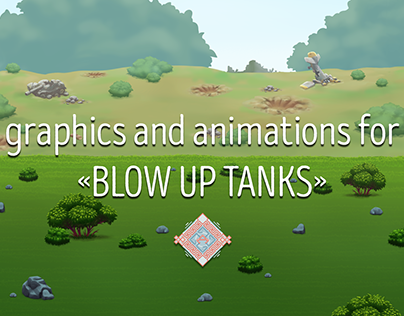 """graphics and animations for """"Blow Up Tanks"""""""