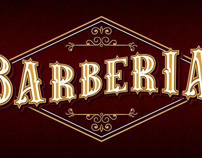 Vintage Barber Font