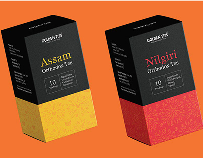 Packaging Design | Tea Packaging