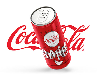 coca cola // typographic can project