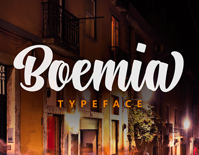 Boemia Typeface