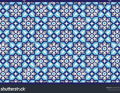 Islamic Pattern (Tiles Designing)
