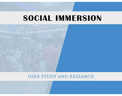 User study and Research, Delhi