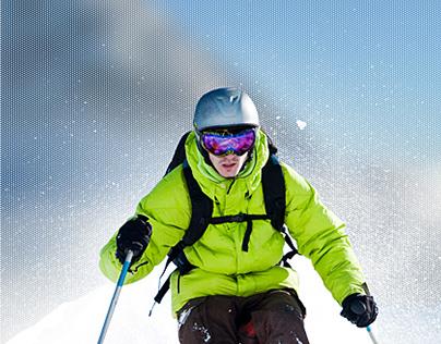 SkiGourmet website and mobile app