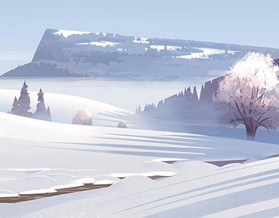 Paysages hivernaux 2