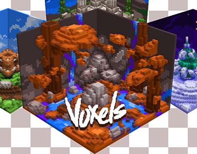 Voxels (pack)
