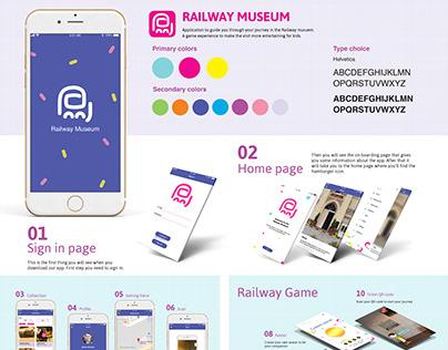 Railway museum mobile application