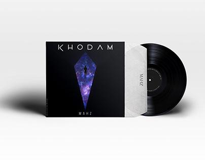 """Music Cover Artwork of """"KHODAM ( Me )"""" - MAHZ"""