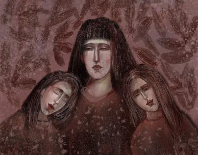 Три сёстры осени three sisters autumn