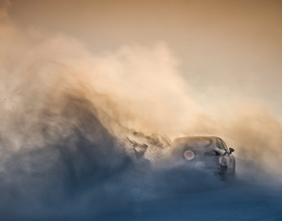 Porsche Ice Experience. China / Inner Mongolia. Part II