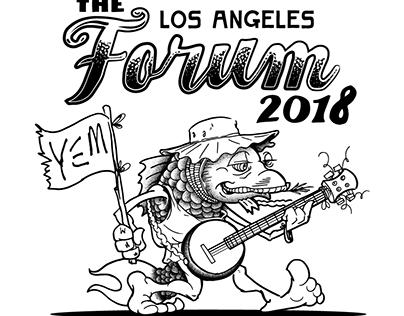 LA Forum 2018 Lot Tee