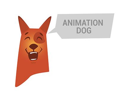 2d GIF Animation | Happy Dog