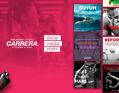 Carrera Fitness & Spa | Social Media Posts