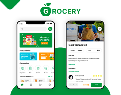 Grocery - Mobile APP