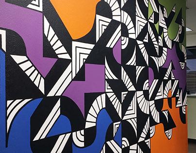 Simply Complex Mural - D & K Printing Boulder Colorado