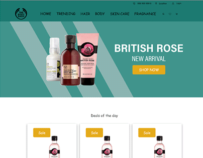BodyShop - Website Redesign