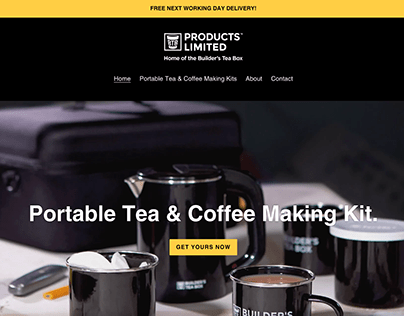 BTB Products Limited - Builder's Tea Box
