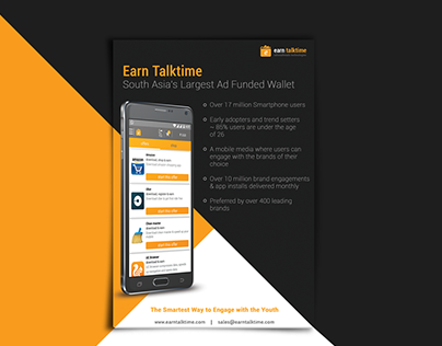 Earn Talktime Brochure