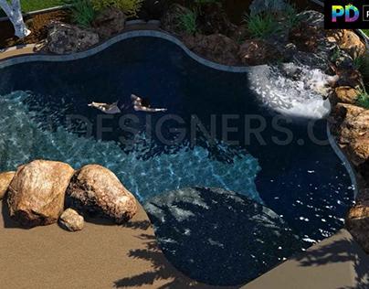 Professional 3d pool designer
