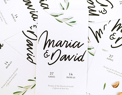 Wedding stationery | Maria & David